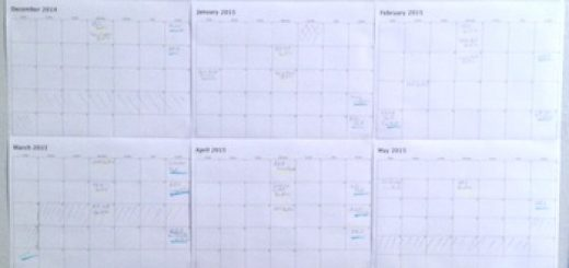 Yearly plan.
